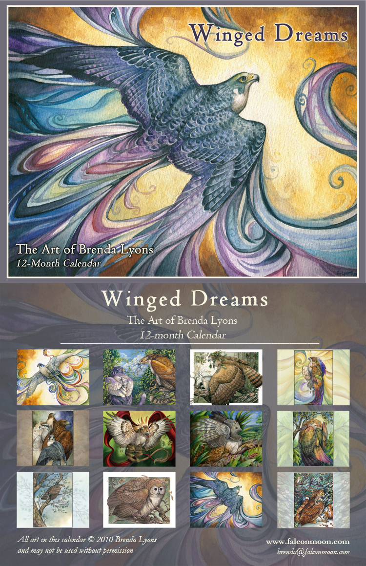 Winged Dreams - Calendar by windfalcon