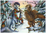 Solstice's Snowgryph