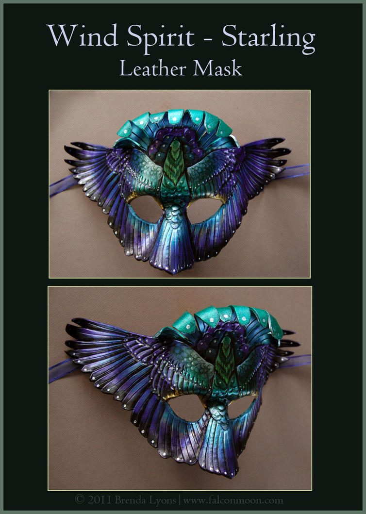 Wind Spirit - Starling - Mask by windfalcon
