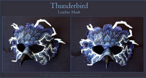 Thunderbird - Leather Mask