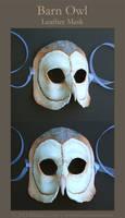 Barn Owl - Leather Mask