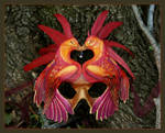 Phoenix Love - Leather Mask