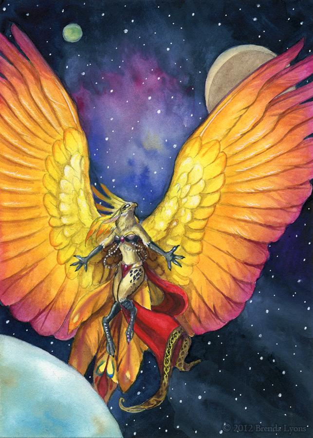 Celestial Kalista by windfalcon