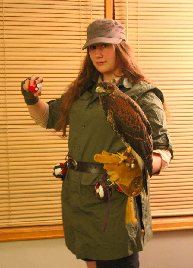 Birdtrainer Ready for Pokemon Battle!!! by windfalcon