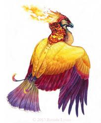 Phoenix Spot - Art for Winged Fantasy