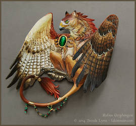 Rufous Gryphongem