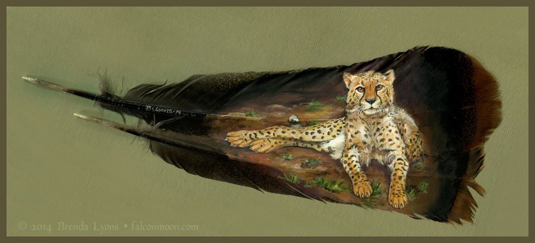 Lounging Cheetah by windfalcon