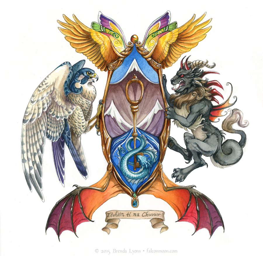 Vhachuir Coat of Arms by windfalcon