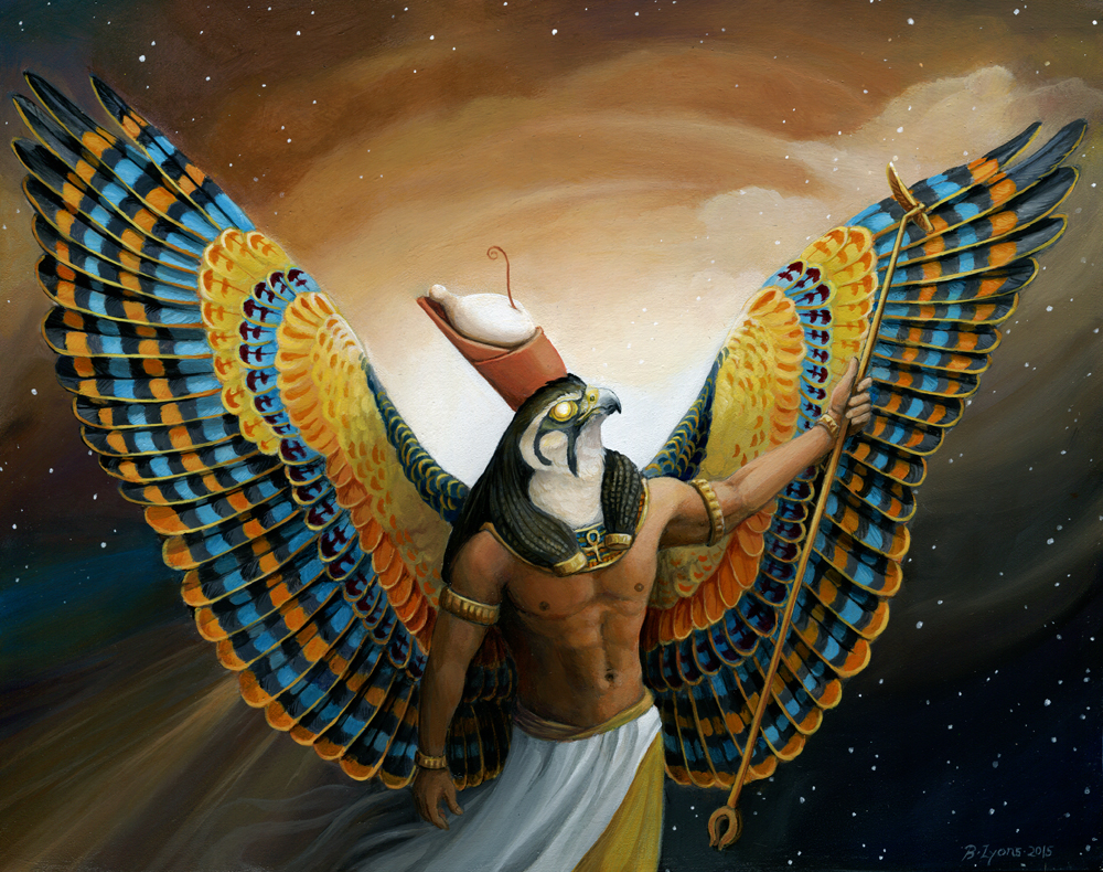 egypt Horus, il Vendicatore - by windfalcon DeviantArt (2015-2017) © dell'autore