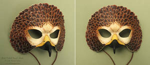 Red-Tailed Hawk Mask II by windfalcon
