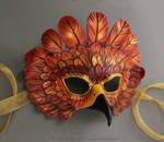Simple Autumn Falcon Mask