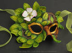 Apple Blossom Leather Mask