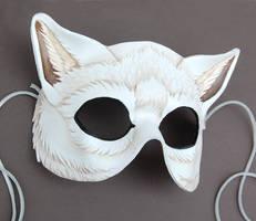 White Wolf Mask by windfalcon