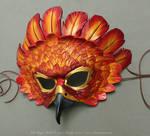 Fire Eagle Leather Mask
