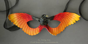 Sun Starling Leather Mask
