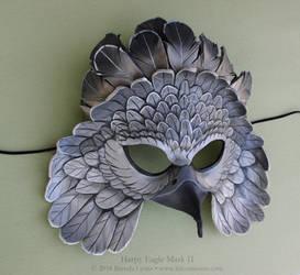 Harpy Eagle II Leather Mask by windfalcon
