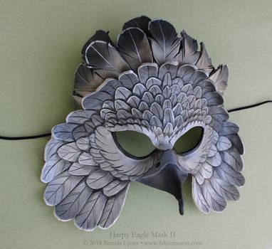 Harpy Eagle II Leather Mask