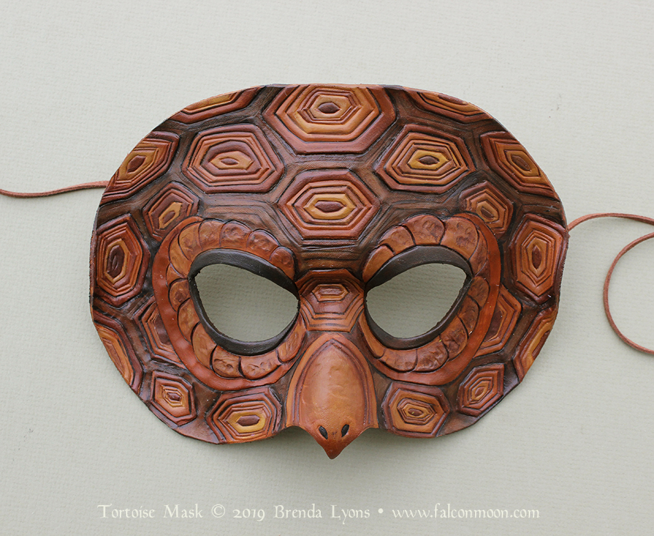 Tortoise Mask by windfalcon