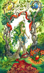 The World - 78 Elemental Tarot