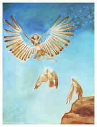 Sky (Spirit of the Hawk) by windfalcon