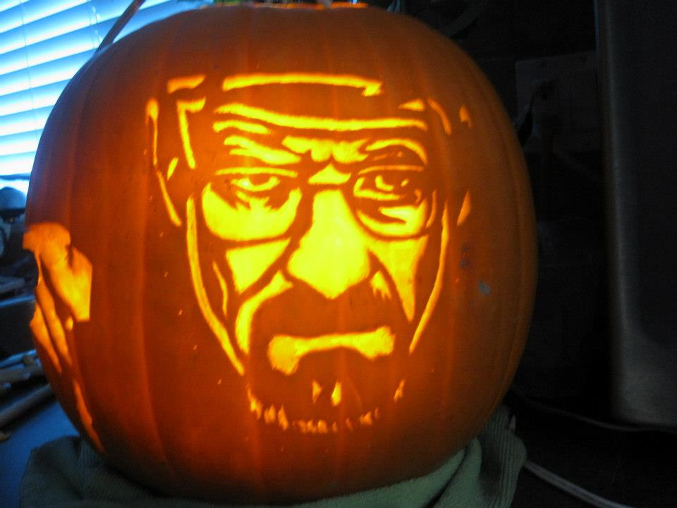 Bad Pumpkin Carving Breaking Bad Pumpkin by