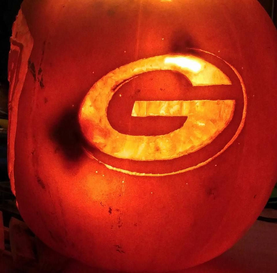 PackersLogoPumpkin by JoshuaLumitao