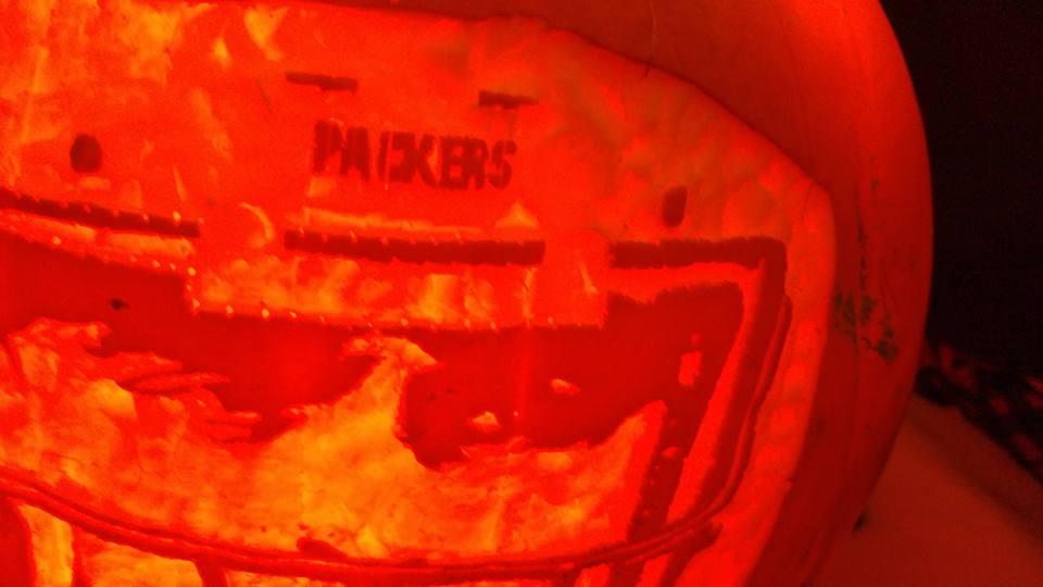 PackersNamePumpkin by JoshuaLumitao