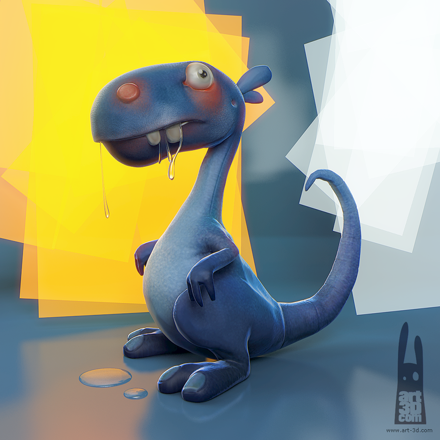Timelapse... From 2D concept to 3D  by ChrRambow
