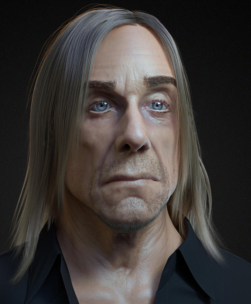 Tribute to Iggy Pop by ChrRambow