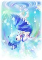Ice birth by Harukim