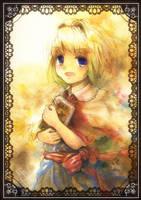 Alice Margatroid portrait by Harukim
