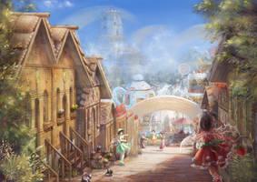 Sugar town by Harukim