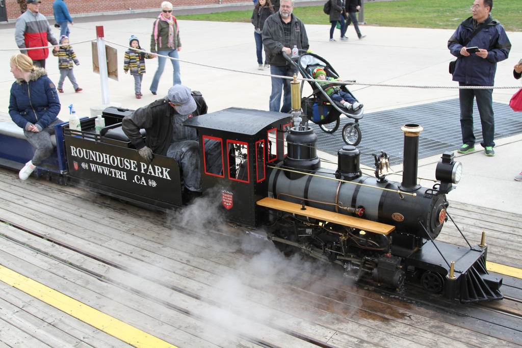 Live steam model by 914four