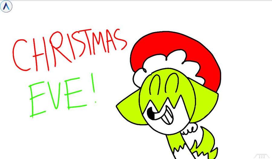Christmas Eve! by Kittygreenfox67