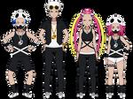 Kisekae Exports: Team Skull