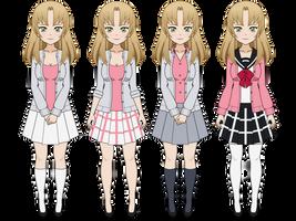 Kisekae Export: Pleated Skirt by BlackRoses96