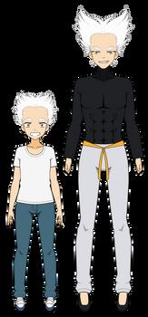 Kisekae Export: Garou (One Punch Man)