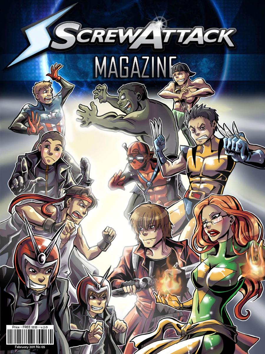 ScrewAttack Magazine Issue 5 by HybridRain
