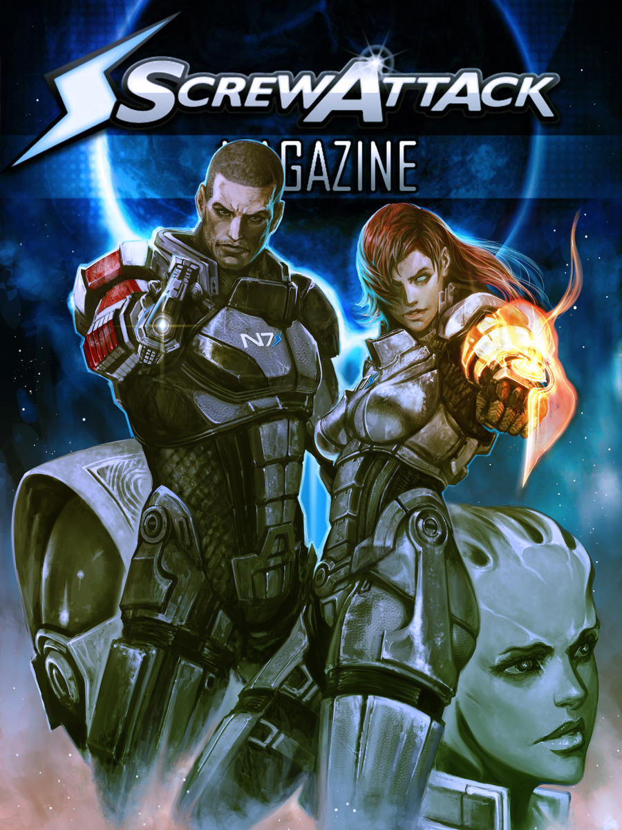 Screwattack Magazine Issue 14 by HybridRain