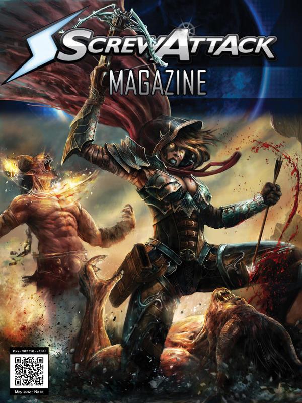 Screwattack Magazine Issue 16 by HybridRain
