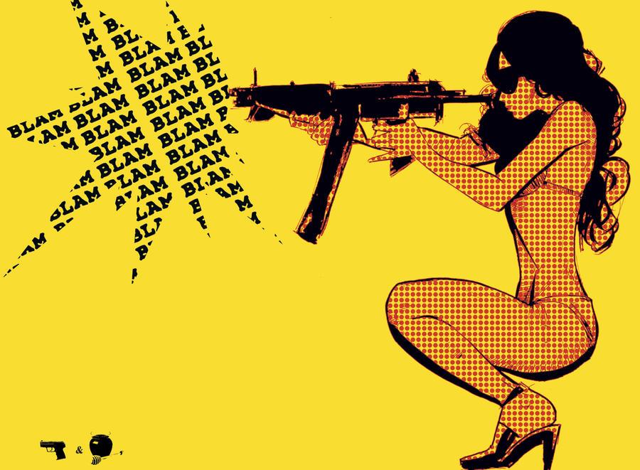 New Guns N' Honey by Julianlytle