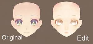 MMD TDA Face Edit