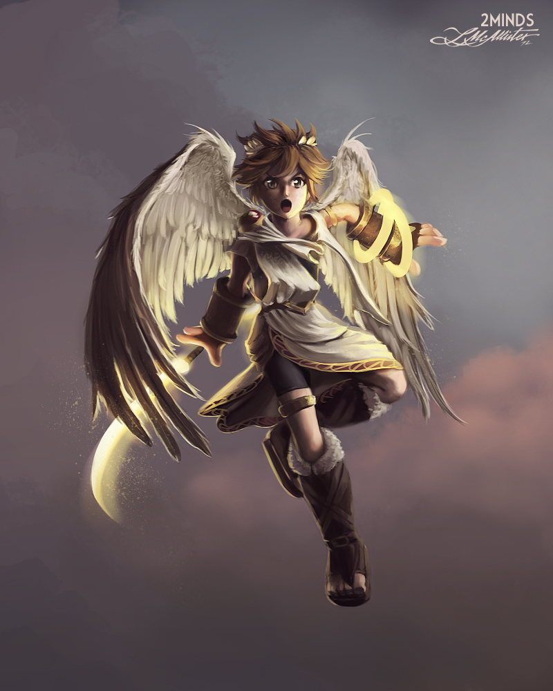 Kid Icarus Pit Fan Art
