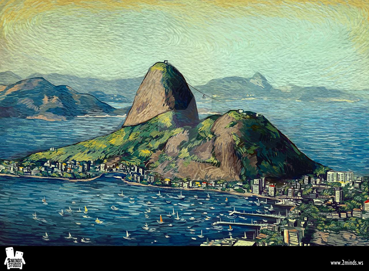 Rio de Janeiro by 2MindsStudio