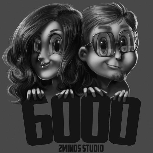 6000 likes by 2MindsStudio
