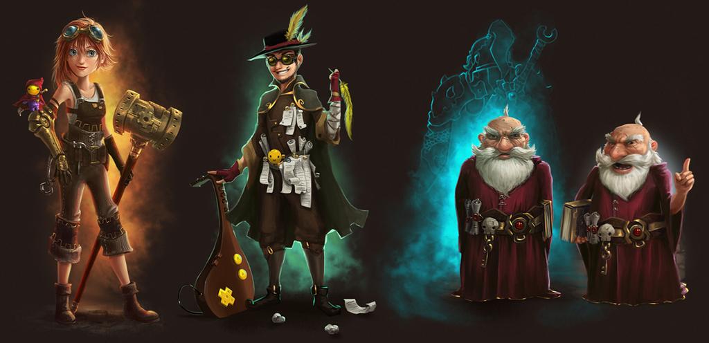 Arena 2 Characters by 2MindsStudio