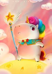 Healer Unicorn by 2MindsStudio