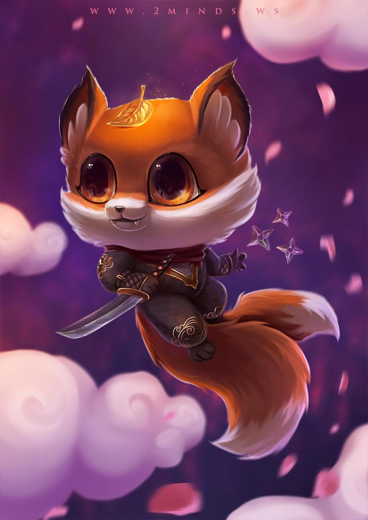 Ninja Fox by 2MindsStudio