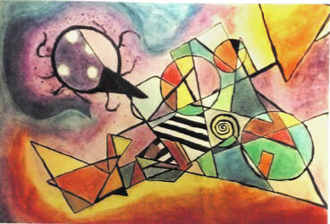 Kandinsky inspired piece by TheLeviathan45