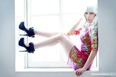 BCBG Dress by yuffiebunny